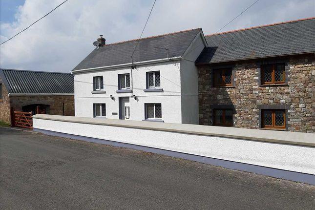 Thumbnail Detached house for sale in Llwyncelyn, Heol Y Capel, Carmel, Llanelli