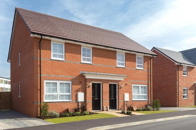 """Thumbnail Semi-detached house for sale in """"Maidstone"""" at Station Road, Methley, Leeds"""