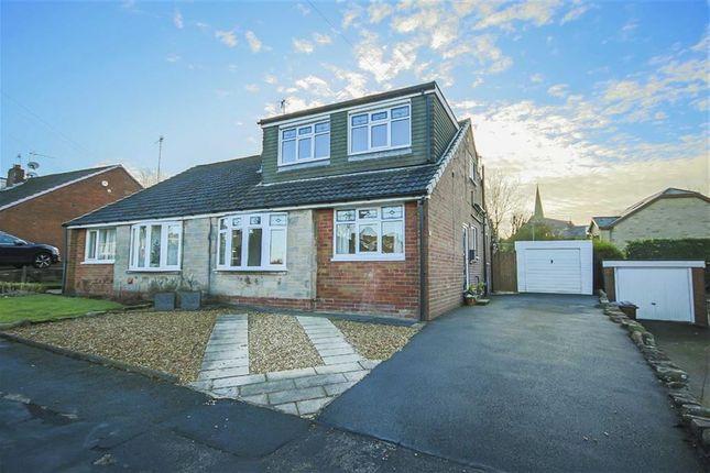 Thumbnail Semi-detached bungalow for sale in Shelley Drive, Accrington, Lancashire