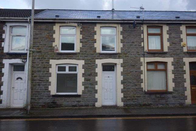 Thumbnail Terraced house for sale in Wyndham Street, Tynewydd