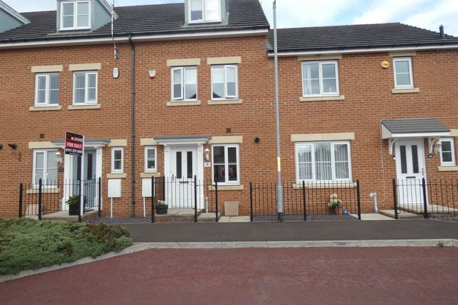Thumbnail Town house for sale in Capheaton Way, Seaton Delaval, Tyne & Wear