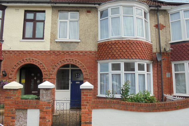 Thumbnail Terraced house to rent in Wesley Grove, Portsmouth