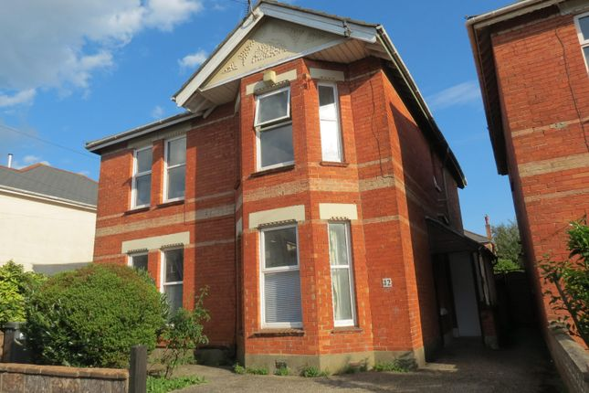 Thumbnail Flat to rent in Gerald Road, Winton, Bournemouth