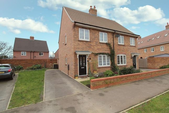 Front of Oxford Blue Way, Stewartby MK43
