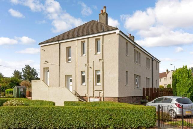 External of Netherhill Crescent, Paisley, Renfrewshire, . PA3