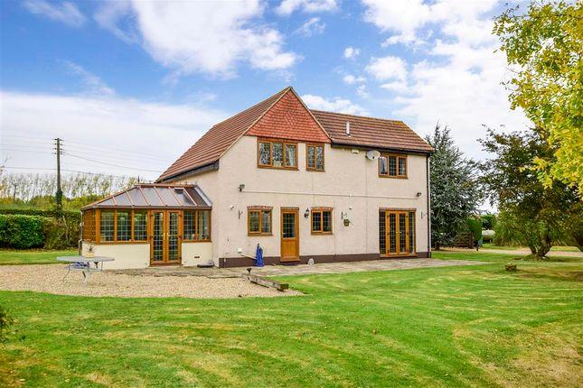 Thumbnail Detached house for sale in South Bush Lane, Hartlip, Sittingbourne, Kent