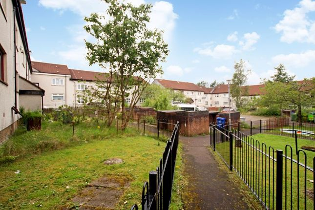 Rear Courtyard of Denmilne Street, Easterhouse, Glasgow G34