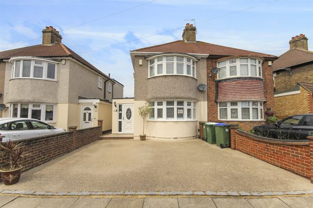 Semi-detached house for sale in Budleigh Crescent, Welling, Kent
