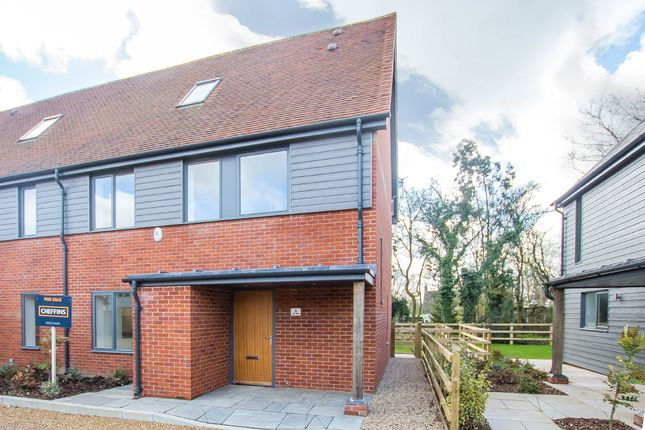 Thumbnail End terrace house for sale in Brickyard Lane, Reed, Royston