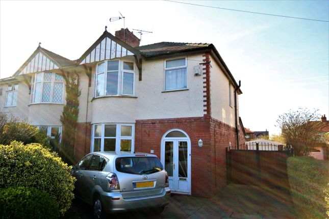 Thumbnail Semi-detached house for sale in Crookings Lane, Penwortham, Preston