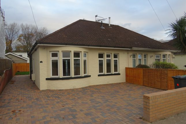Thumbnail Semi-detached bungalow for sale in Heol Pant Y Rhyn, Cardiff