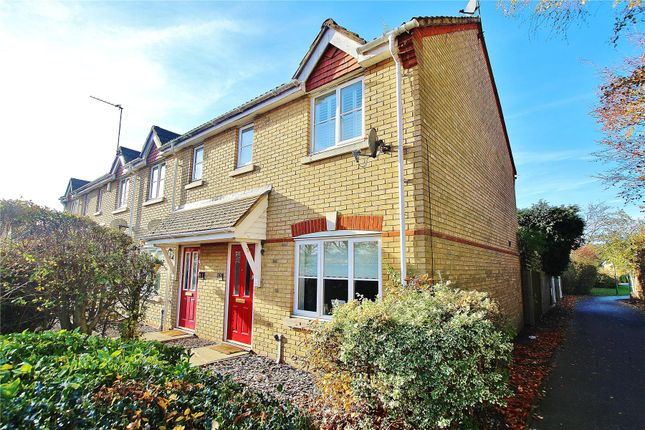 Thumbnail End terrace house for sale in Knaphill, Woking, Surrey