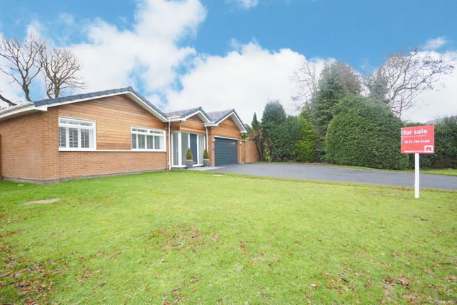 Thumbnail Detached bungalow for sale in White House Close, Solihull