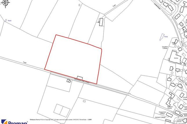 Thumbnail Land for sale in Waggoner's Field, Waggons Lane, Ashleworth, Gloucestershire
