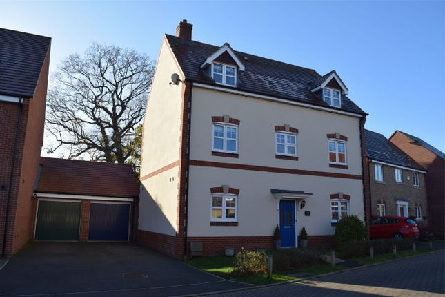 Thumbnail Detached house for sale in Gomer Road, Bagshot, Surrey