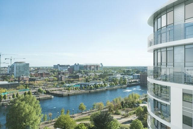 Thumbnail Flat for sale in Waterfront Quay, Manchester