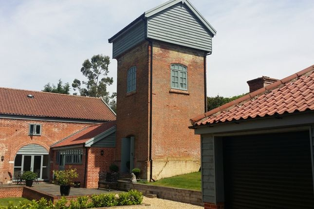 Thumbnail Barn conversion for sale in Tower Barn, Garbolisham, Diss, Norfolk