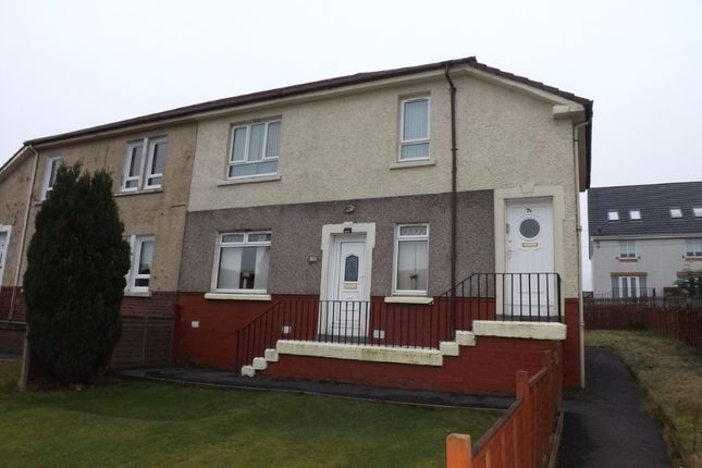 Thumbnail Flat to rent in Drumgelloch Street, Airdrie, North Lanarkshire
