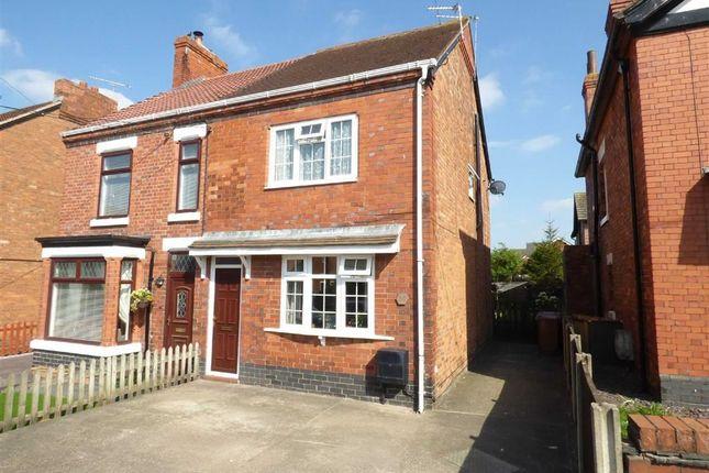 Thumbnail Semi-detached house for sale in Crewe Road, Shavington, Crewe