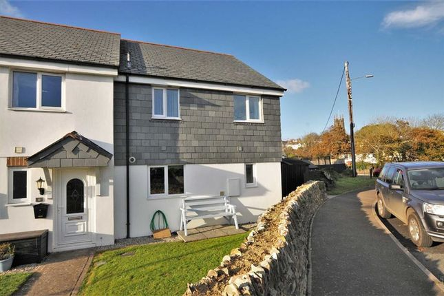 Thumbnail End terrace house for sale in Barnfield Park, Stratton, Bude, Cornwall
