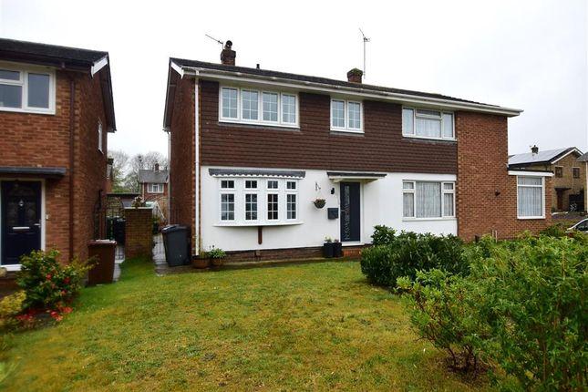 3 bed semi-detached house for sale in Woodpecker Road, Birds Estate, Larkfield, Kent ME20