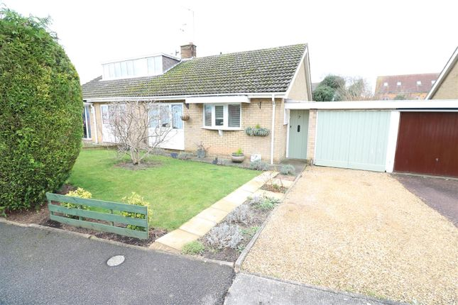 Thumbnail Semi-detached bungalow for sale in Haddon Close, Rushden