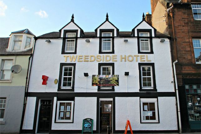 Thumbnail Commercial property for sale in Tweedside Hotel, Innerleithen, Scottish Borders