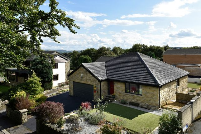 Thumbnail Detached bungalow for sale in Butternab Road, Beaumont Park, Huddersfield