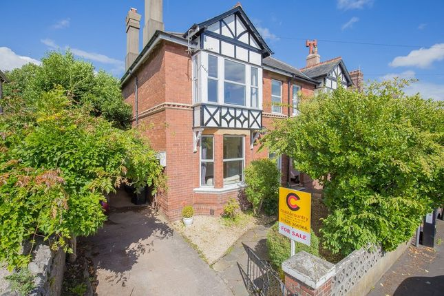 Thumbnail Semi-detached house for sale in Garston Avenue, Newton Abbot