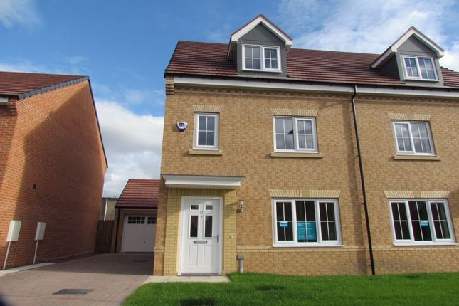 Semi-detached house for sale in Jefferson Grove, Seaton Delaval, Whitley Bay