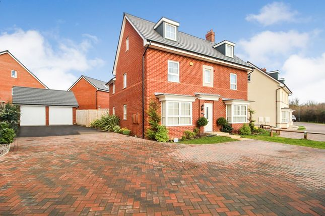 Thumbnail Detached house for sale in Torry Orchard, Marston Moretaine, Bedford