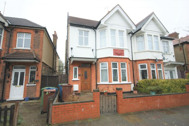 Thumbnail Semi-detached house to rent in Longley Road, Harrow, Middlesex