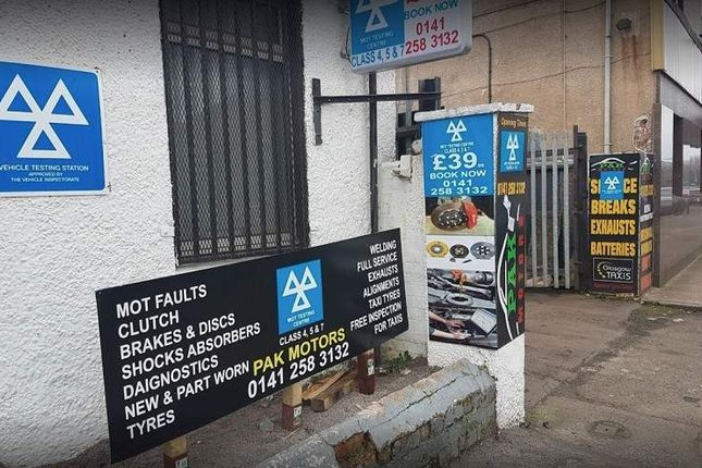 Thumbnail Parking/garage for sale in 105 Whitefield Road, Glasgow