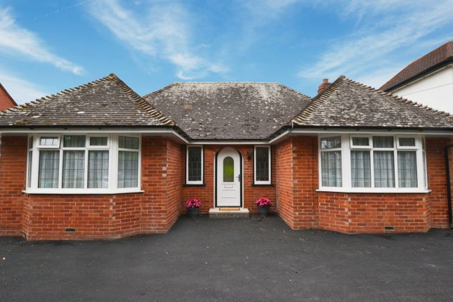 Thumbnail Detached bungalow to rent in Topsham Road, Exeter