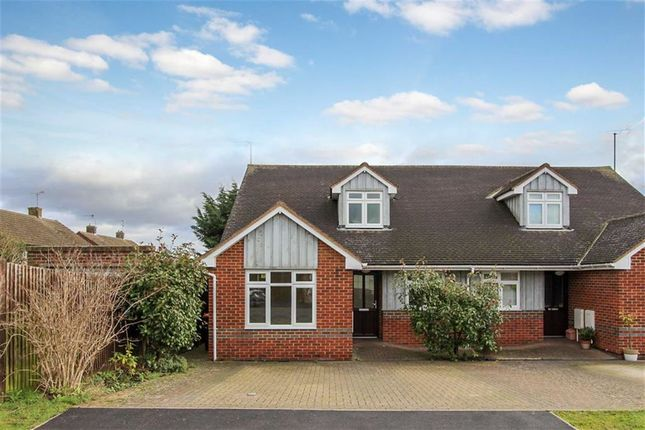Thumbnail Semi-detached bungalow for sale in Miles Avenue, Leighton Buzzard