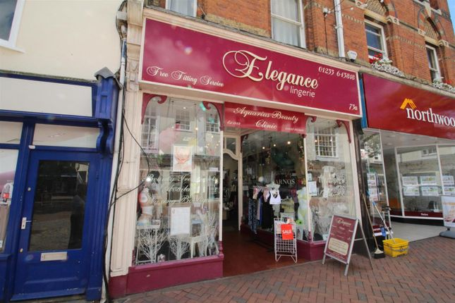 Thumbnail Property to rent in High Street, Ashford