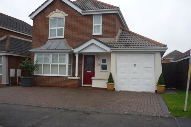 Thumbnail Detached house to rent in Goldcrest Road< Cinderhill, Nottingham