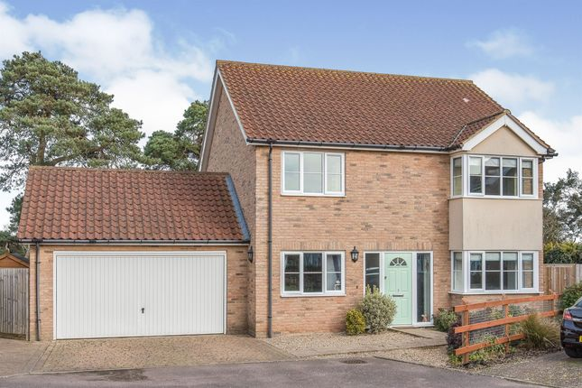 Thumbnail Detached house for sale in Street Farm Close, Holywell Row, Bury St. Edmunds