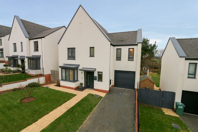 Thumbnail Detached house for sale in Brunel View, Exminster, Exeter