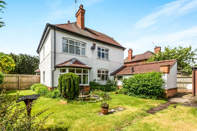 Thumbnail Detached house for sale in Fairfield Road, Uttoxeter