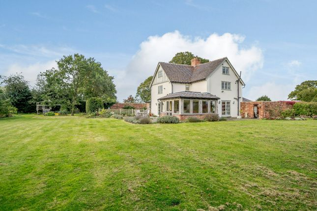 Thumbnail Detached house for sale in Springe Lane, Baddiley, Nantwich, Cheshire