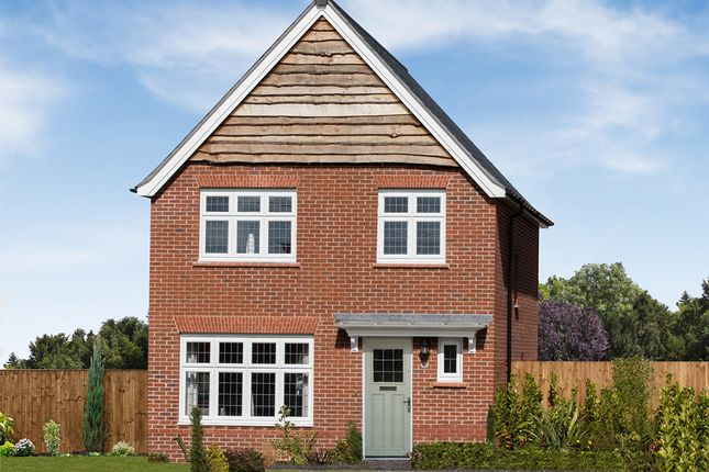 "Thumbnail Detached house for sale in ""Warwick"" at Cot Hill, Llanwern, Newport"