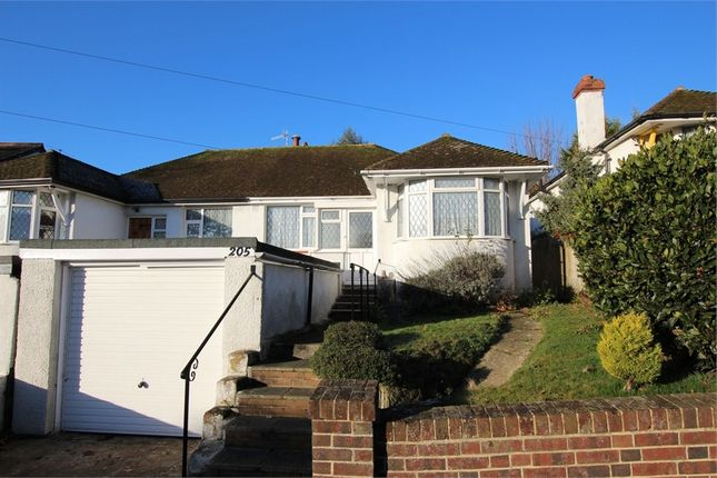 Thumbnail Semi-detached bungalow for sale in Elphinstone Road, Hastings, East Sussex