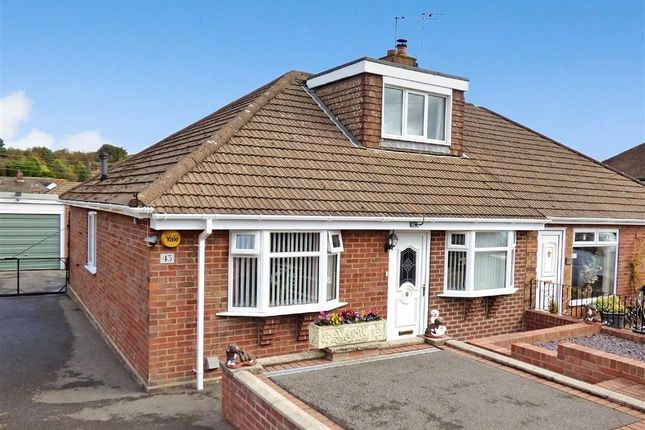 Thumbnail Semi-detached bungalow for sale in Coupe Drive, Weston Coyney, Stoke-On-Trent