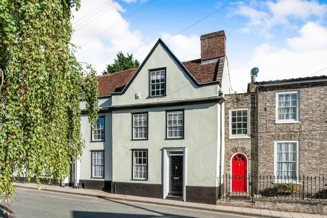 Thumbnail Terraced house for sale in Thetford, Norfolk