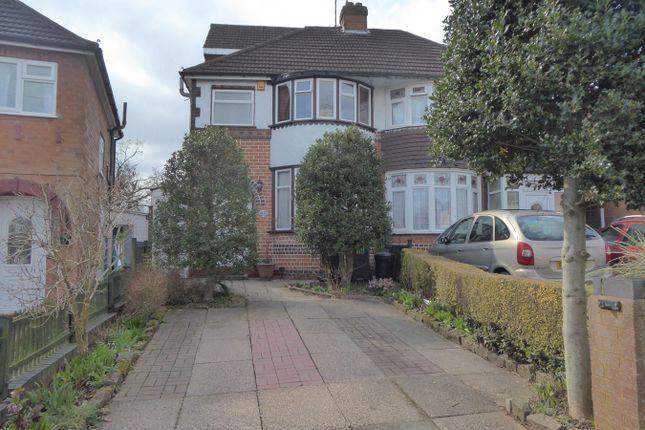Thumbnail Semi-detached house for sale in Kingshurst Road, Northfield, Birmingham
