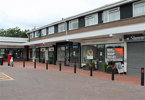 Retail premises to let in Unit 4, Sutton Farm Shopping Centre, Shrewsbury