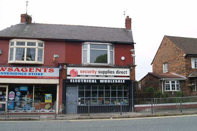 Thumbnail Property for sale in Commercial Unit And First Floor Flat, Queens Drive, West Derby, Liverpool