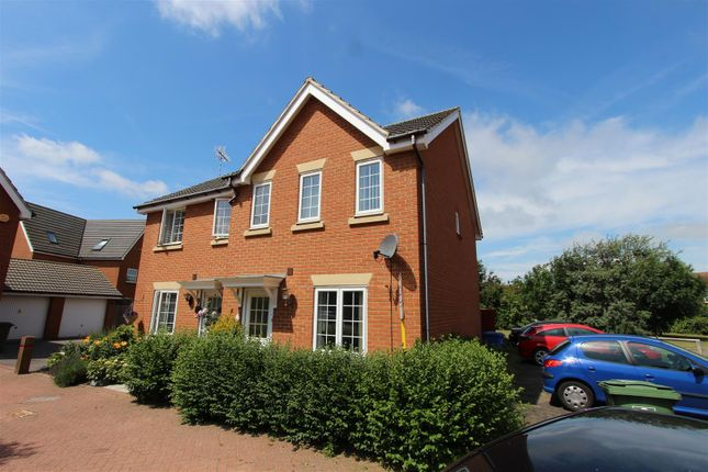 Thumbnail Semi-detached house to rent in Bismuth Drive, Sittingbourne