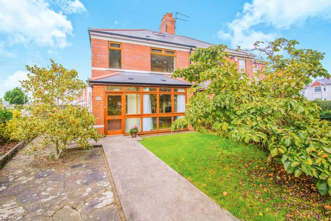 Thumbnail Semi-detached house for sale in College Road, Whitchurch, Cardiff